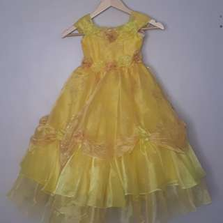 Beauty and the Beast Gown