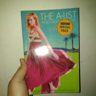 The A List - English book