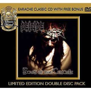 Deicide - Scars of The Crucifix CD+DVD Sealed Concert 2003 live