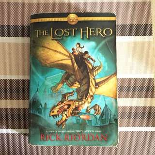The Lost Hero by Rick Riordan (First Edition)