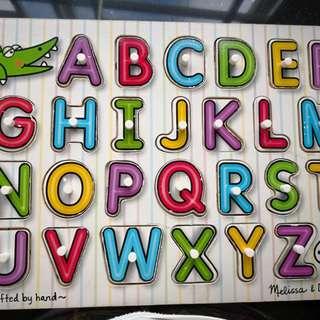 Melissa & Doug Alphabets Puzzle
