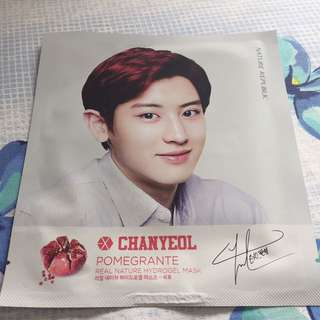 EXO x Nature Republic mask - Chanyeol