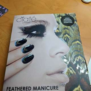 Authentic Ciate Feathered Manicure nail kit set