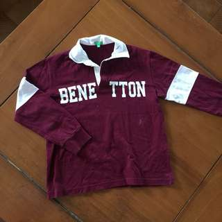 United Colours of Benetton Boy's Long Sleeve Top