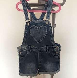H&M Shorts Denim Overall
