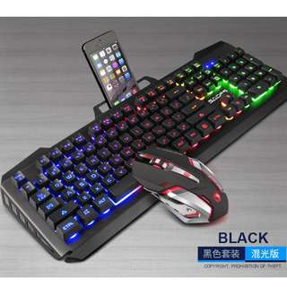 (Free XL mousepad) SADES Blademail V2 Gaming Keyboard + Mouse