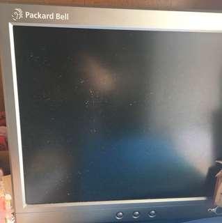 "Packard Bell 15"" 吋LCD Mon 顯示屏"