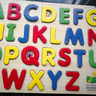 The Learning Journey Alphabets Puzzle
