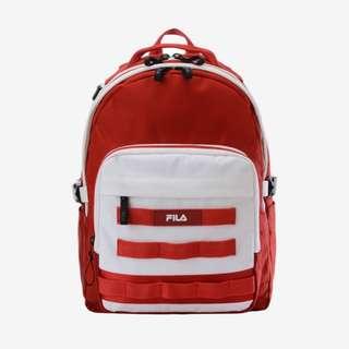 FILA後背包(紅色)