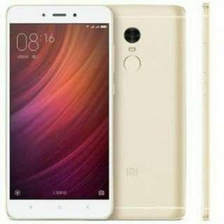 Xiaomi Note 4X 3/16gb Gold Cash/Kredit Tanpa CC