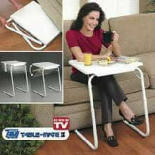 FOLDABLE AND ADJUSTABLE MULTI-PURPOSE TABLE MATE