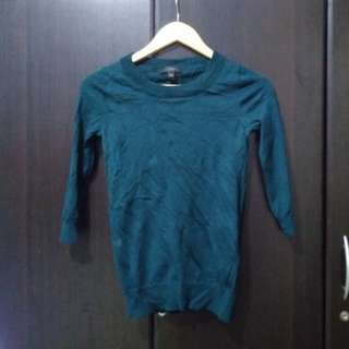 J.Crew knitted 3/4 pullover