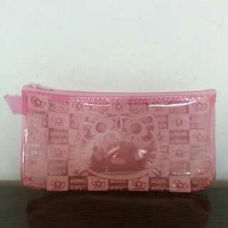 Pink Hello Kitty Pencil Case