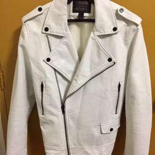 21MEN leather jacket