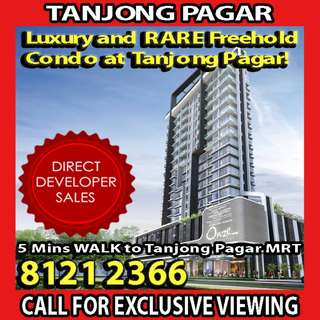 🌟RARE ONE-OF-A-KIND FREEHOLD CONDO at Tanjong Pagar, EXCLUSIVE PRIVATE LIFTS for ALL RESIDENTIAL UNITS!! HOME to Singapore's Prominent Business District, 5 MINS WALK to Tanjong Pagar/Outram Park MRT🌟