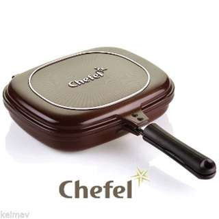 Chefel Flip N Cook Double Sided Pressure Pan (Non Stick)