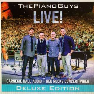 The Piano Guys: Live Concert CD+DVD
