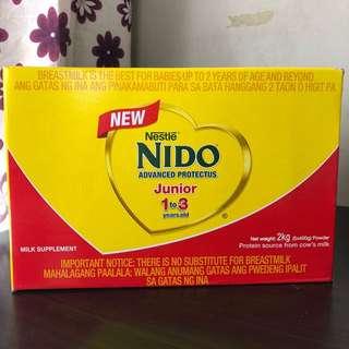 NIDO Junior 2kg 1-3 years old