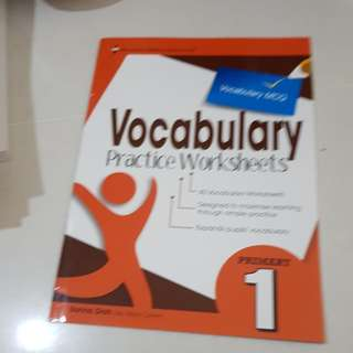 Vocabulary practice worksheets primary 1