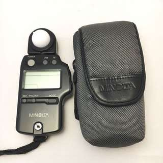 Minolta light meter - IV F with case
