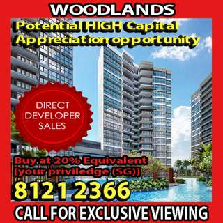 ‼️NEWEST EC IN WOODLANDS, Northwave EC, ONLY 4 UNITS PER FLOOR, PEACEFUL AND HUMBLE LIFESTYLE‼️
