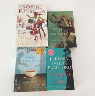 Sophie Kinsella/ Fiction books