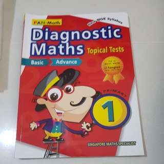 Diagnostic maths topical tests primary 1