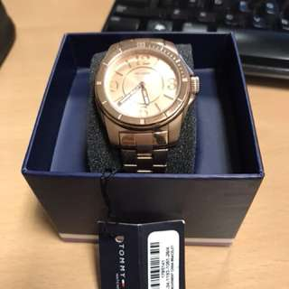 Authentic Tommy Hilfiger Rosegold ladies watch