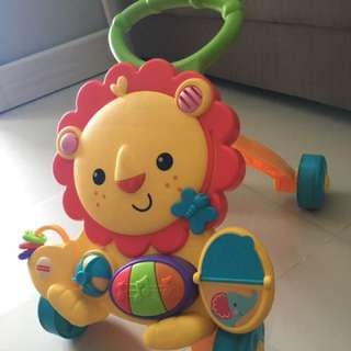 Lion Musical push walker