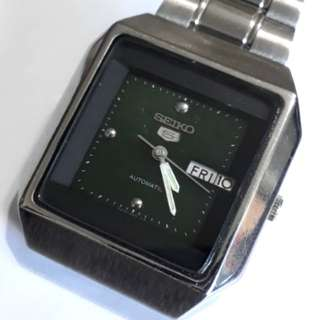 SEIKO 5 AUTOMATIC WATCH 6309-8230 A2 made in Japan