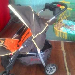 Pooh Stroller