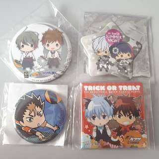 [CLEARANCE] Assorted Anime Badges