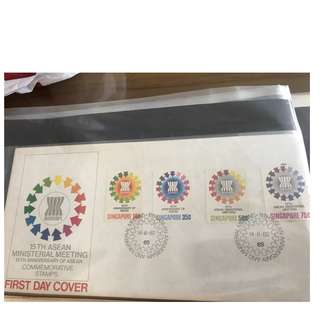 15th ASEAN Ministerial Meeting Commemorative Stamps
