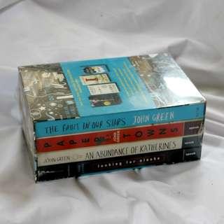 John Green Boxset (Sealed)