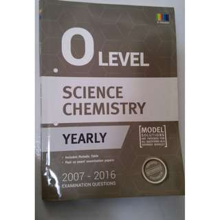 O Levels Combined Science (Chemistry) Ten Year Series (tys)