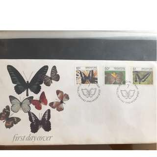 Butterflies Special Stamp Issue First Day Cover
