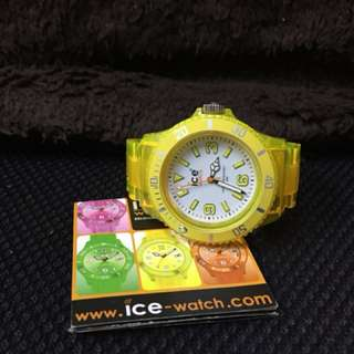 Ice watch yellow 💯 real big on sales