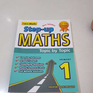 Step up maths topic by topic primary 1
