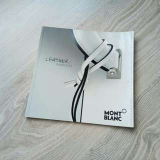 Montblanc leather collection