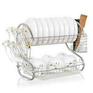 Two layer dish dryer