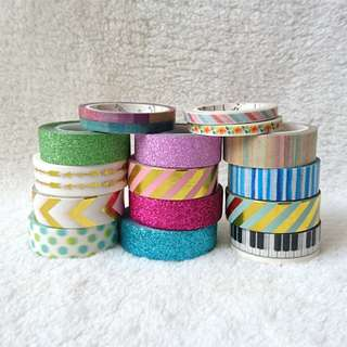 Washi Tapes Galore!!!!