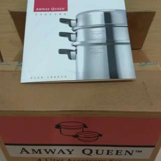 🚚 Amway Queen 安麗三層鍋具組