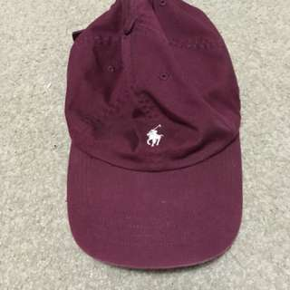 Maroon Polo Hat
