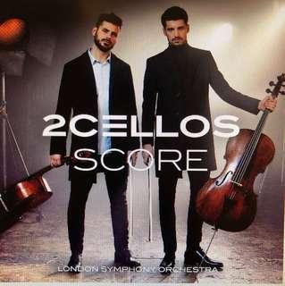2 Cello: Score