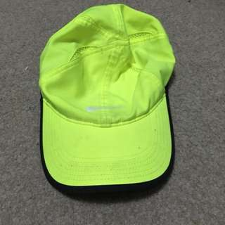 Yellow Nike Light Feather Hat