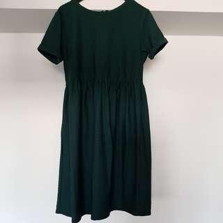 ASOS Dark Green Maternity Dress
