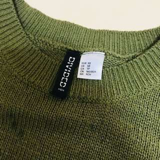 H&M針織上衣