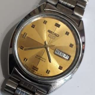 SEIKO 5 AUTOMATIC WATCH 6309-5450 A made in Japan