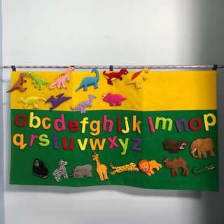 Educational Alphabet Learning Mat (Accelerated learning tool)