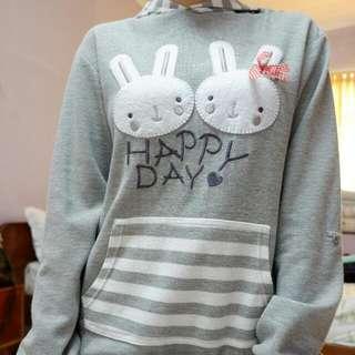 Hoodie Sweater Anak Dan Remaja Kelinci Nevada